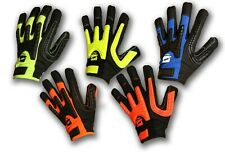 Mechanics Work Gloves Synthetic Leather High Performance TPR Impact Protection