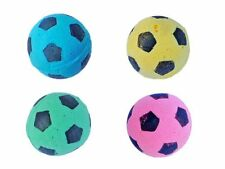 SOCCER BALLS CAT TOYS - Lots 2/5/10 Soft Spongy Foam Quiet Play Bouncy Kitten