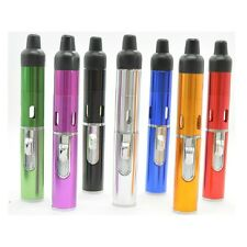 Click N Vape Butane Gas Refillable Lighter Mini Portable Torch Herbal Vaporizer