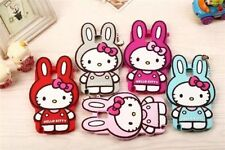 Hot 3D Hello Kitty Rabbit Soft Silicone Skin Case Cover Fr Samsung Galaxy Models
