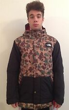 The North Face Mens Stumpston Camo Insulated Jacket Hooded Parka Snow Coat
