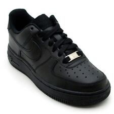 NIKE AIR FORCE 1 LOW GS BOYS SHOES BLACK 314192-009 SELECT SIZE