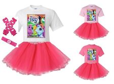 """""""My Little Pony Castle"""" Personalized T-Shirt and Pink Tutu Set - NEW"""