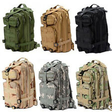 Outdoor Sport Military Tactical Rucksacks Backpack Camping Hiking Bag A7