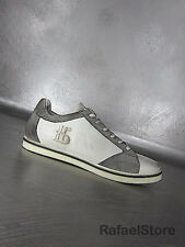 Men's Sneakers Shoes BOTTICELLI Limited Crust Antic Leather White Vintage New