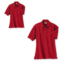 MEN'S WEARGUARD WEARTUFF PIQUE POLO SHIRT SHORT SLEEVE RED S,M.L,XL,4XL,5XL