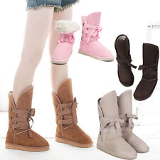 WOMEN'S GIRL'S WINTER SNOW WARMER 5 COLORS MID-CALF BOOTS SHOES Best Price Cheap