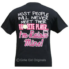 "Girlie Girl Originals ""My Favorite Player...Softball Mom"" Unisex Fit T-Shirt"