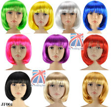 SEXY SHORT BOB CUT FANCY DRESS FULL WIGS ROLE PLAY COSTUME LADIES  PARTY JF004