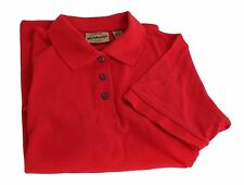 WOMEN'S WEARGUARD WEARTUFF PIQUE POLO SHIRT SHORT SLEEVE RED S,M,L,2XL,3XL