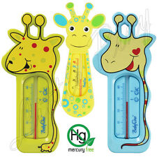 Baby Safety Animal Giraffe Shape Floating Water Bath Room Tub Thermometer