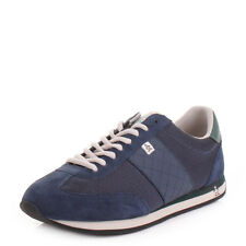 MENS ORIGINAL PENGUIN ALPHA DRESS BLUE RETRO CASUAL TRAINERS SHOES UK SIZE