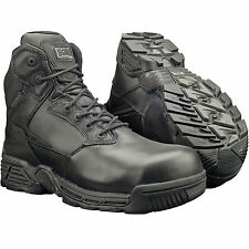 MAGNUM STEALTH FORCE 6.0 SIDE ZIP BOOTS SIZE UK 7 - 14 MENS COMPOSITE WATERPROOF