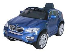Kids BMW X6 Electric Battery Ride on Car Jeep 12v - Parental Remote Open Doors