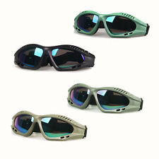 Airsoft Goggles Hunting Camping Safety Glasses Anti-UV Windproof Colorful Lens