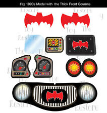 New Replacement Decals Stickers fits Little Tikes Cozy Coupe Car 1960s Batman 1
