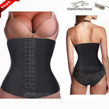 New Tummy Spiral Steel Boned Waist Training Shaper Underbust Corset Waspie BT16