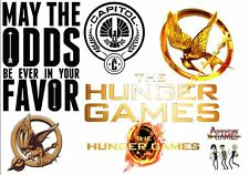 The Hunger Games Iron on T Shirt heat Transfer diy free postage