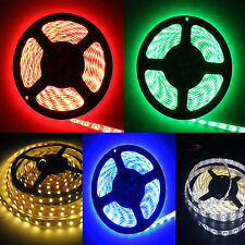 5M 600LEDs SMD 3528 Flexible LED Strip Light 12V red blue green warm cool white