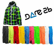 Dare2b Steady On Boys Ski Suit, 2 Piece Set Includes Jacket & Salopettes