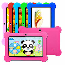 "7"" 4GB Android 4.4 Multi Touch Dual Core Tablet PC For Kids Edition Bundle Case"