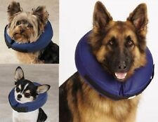 Inflatable Dog Collar Soft E- Collar Medical Cone Protect Pets Biting Wounds