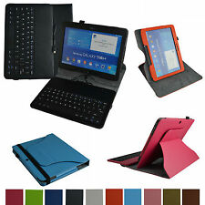 Rotary Case+Removable USB Keyboard for Samsung Galaxy Tab 4 10.1 T530 Tablet PC
