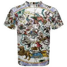Celestial Harmony Astrology Sublimated Sublimation T-Shirt S,M,L,XL,2XL,3XL