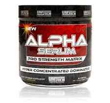 ALPHA SERUM STRONGEST PRE TRAINING FORMULA EVER....45 SERVINGS