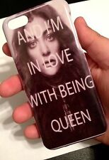Lorde Pure Heroine 4/4s/5/5s/5C Case Skin Cover Hard for Apple Royals USA/CANADA