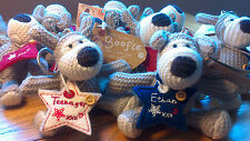 Named Boofle Bear Keyrings Boys Male Relations Age Birthday Presents