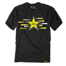 Factory Effex Rockstar Energy Streak Black T-Shirt Tee Adult Mens Licensed NEW