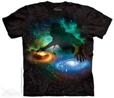 The Mountain GALAXY SPACE DJ Adult Men T-Shirt S-2XL Short Sleeve PRINT IN USA