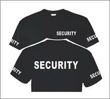SECURITY T-SHIRT S -5XL Event Bouncer Staff Party Guard Police Shirt Tee