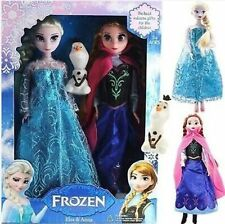 2015 new Hot sale Princess annaelsa Doll barbie doll toy KIDS BEST GIFT
