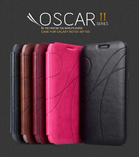 KLD OSCAR II 2 ULTRA THIN FLIP LEATHER CASE COVER SAMSUNG GALAXY NOTE 2 N7100