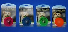 American Dog Toys Fetch & Glow in the Dark 2.5 Rubber Ball Small Dog Floats B328