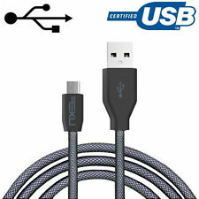 NXET® Original Magnetic & Gold Connector Micro USB Fast Charger Data Sync Cable