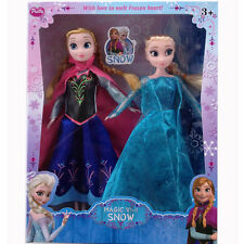 Hot Sell Princess anna elsa Barbie Doll Toy Game KIDS Gift