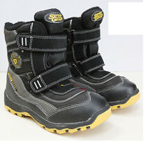 NEW kids Winter Snow Boots Children Waterproof youth Boys Insulated Shoes cheap