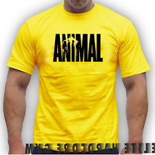 MMA  BODYBUILDING  T-Shirt ANIMAL BEST WORKOUT  MEN  CLOTHING SPORT fighting ufc