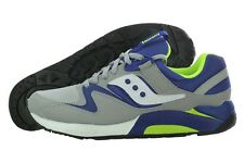 Saucony Grid 9000 70077-22 Grey Blue Retro Casual Shoes Medium (D, M) Mens