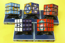 RUBIKS CUBE OFFICIAL SPECIAL COLLECTORS FOOTBALL FOOT BALL PUZZLE CUBE GAME