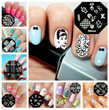 Nail Art Image Stamp Template Stamping Plates DIY Manicure QA Series 61-98