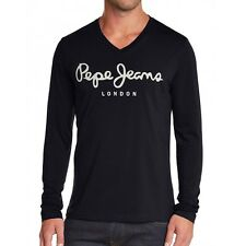 T SHIRT PEPE JEANS ORIGINAL LONG NOIR