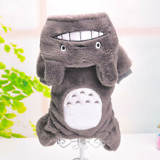 Halloween Costumes Pet Clothes Totoro Dog Clothing Hoodie Sweater Coat Puppy Cat