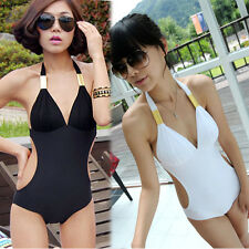 Lady Women Girl Sexy One-piece Swimwear Korean  Summer Swimsuit Beach Bikin B43