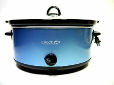 Crock Pot The Original Classic 7 Quart Slow Cooker in Red Color SCV700 - Used