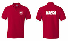 Emergency  Medical  Services EMS Logo  Paramedic Polo T shirts