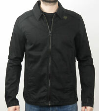 G-Star Raw Jacke BLAN ZIP OVERSHIRT 83610A.4883.990 BLACK - schwarz +NEU+